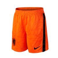 2020 Netherlands Home Orange Soccer Jersey Short