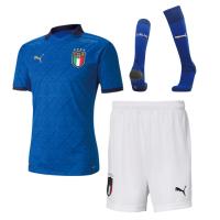 Italy Soccer Jersey Home Whole Kit (Shirt+Short+Socks) Replica 2021
