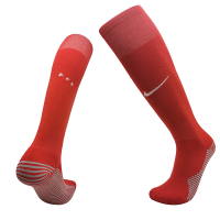 2020 France Home Red Jersey Socks