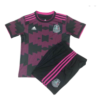 Mexico Soccer Jersey Home Kit(Shirt+Short) Replica 2021
