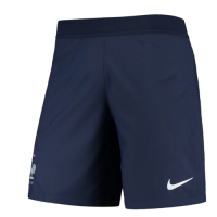 2020 France Away Blue Soccer Jersey Short