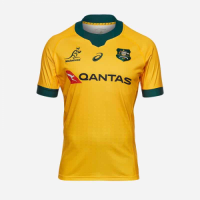 2021 Australia Away Yellow Rugby Jersey Shirt