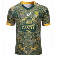 South Africa Springbok Madiaba100th Commemorative Rugby Jersey Shirt