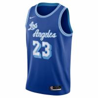 Men's Los Angeles Lakers LeBron James #23 Nike Blue 20/21 Swingman Jersey - Classic Edition