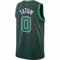 Men's Boston Celtics Jayson Tatum #0 Nike Green 2020/21 Swingman Player Jersey – Earned Edition