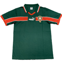 Morocco Rrtro Soccer Jersey Home Replica World Cup 1998