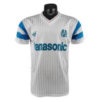 Marseilles Retro Soccer Jersey Home Replica 1990