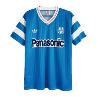 Marseilles Retro Soccer Jersey Away Replica 1990