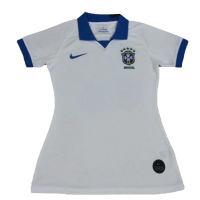 Brazil Women's Soccer Jersey Away Replica 2020/2021