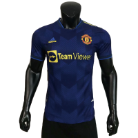 Manchester United Soccer Jersey Third Away (Player Version) 2021/22