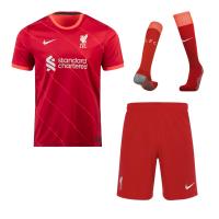 Liverpool Soccer Jersey Home Whole (Jersey+Short+Socks) 2021/22