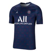 PSG Soccer Jersey Pre Match Navy Replica 2021/22