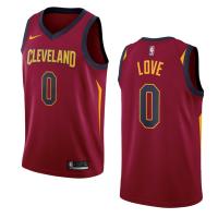 Cleveland Cavaliers Kevin Love #0 Nike Wine Swingman NBA Jersey - Icon Edition