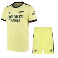 Arsenal Soccer Jersey Away Kit (Jersey+Short) 2021/22