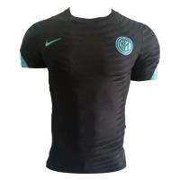 Inter Milan Pre Match Soccer Jersey Black (Player Version) 2021/22
