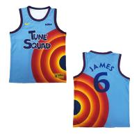 Tune Squad Nike Lebron James #6 Basketball Jersey