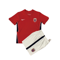 Norway Kid's Soccer Jersey Home Kit (Jersey+Short) 2020