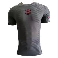 PSG Pre Match Soccer Jersey Dark Gray (Player Version) 2021/22