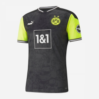 Borussia Dortmund 20/21 Fourth Away Special Jersey Player Version Black