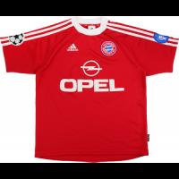 Bayern Munich Retro Soccer Jersey Home UCL Replica 2000/01