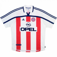 Bayern Munich Retro Soccer Jersey Away Replica 2000/01