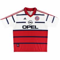 Bayern Munich Retro Soccer Jersey Away Replica 1998/00