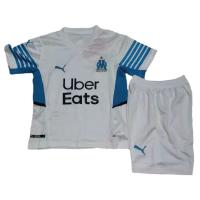 Marseilles Kid's Soccer Jersey Home Kit (Jersey+Short) 2021/22