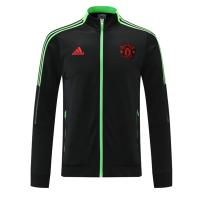 Manchester United Anthem Jacket Black 2021/22
