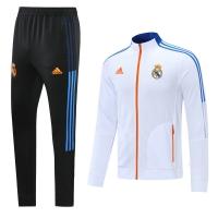 Real Madrid Training Kit (Jacket+Pants) White 2021/22