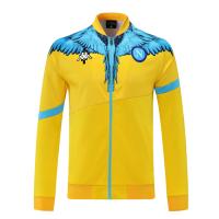 Napoli Training Jacket Yellow Replica 2021/22