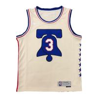 Men's Philadelphia 76ers Alen Iverson #3 Nike 2021 Swingman Jersey - Earned Edition