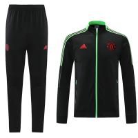 Manchester United Training Kit (Jacket+Pants) Black 2021/22