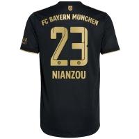 Bayern Munich Soccer Jersey NIANZOU #23 Away Replica 2021/22