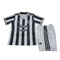 Juventus Kids Soccer Jersey Home Kit (Jersey+Short) 2021/22