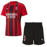 AC Milan Soccer Jersey Home Kit (Jersey+Short) 2021/22