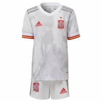 Spain Kid's Soccer Jersey Away Kit (Jersey+Short) 2021