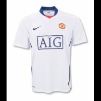 Manchester United Retro Soccer Jersey Away Replica 2008/09