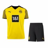 Borussia Dortmund Soccer Jersey Home Kit (Jersey+Short) Replica 2021/22