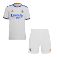 Real Madrid Soccer Jersey Home Kit (Jersey+Short) Replica 2021/22