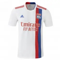 Olympique Lyonnais Soccer Jersey Home (Player Version) 2021/22