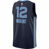 Men's Memphis Grizzlies Ja Morant Nike Navy 2020/21 Swingman Jersey - Icon Edition