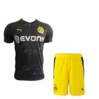Borussia Dortmund Soccer Jersey Away Kit (Shirt+Short) 2020/21