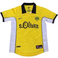 Borussia Dortmund Retro Soccer Jersey Home Replica 1998/99