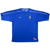 Brazil Retro Soccer Jersey Away Replica World Cup 1998