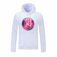 PSG Sweater Hoodie White 2021/22