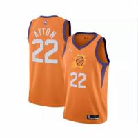 Men's Phoenix Suns DeAndre Ayton #22 Jordan Brand Orange 202021 Swingman Jersey - Statement Edition
