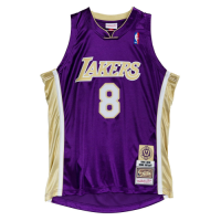 Men's Los Angeles Lakers Kobe Bryant #8 Mitchell & Ness Purple Hall of Fame Class of 2020 Jersey