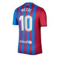Barcelona Soccer Jersey Home MESSI #10 Replica 2021/22