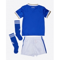 Leicester City Kid's Soccer Jersey Home Whole Kit (Jersey+Short+Socks) 2021/22