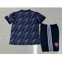 Arsenal Kid's Soccer Jersey Third Away Kit(Jersey+Short) 2021/22